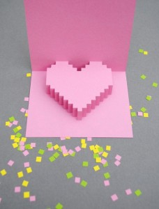 открытка сердечко 1