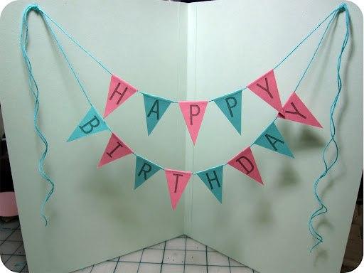 Как сделать открытки на день рождения своими