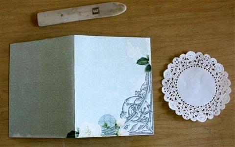 Выполнение открытки своими руками