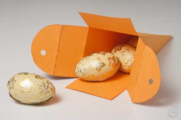 Пасхальная коробочка с открыткой
