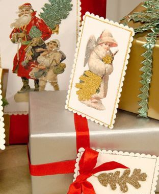 Идея открытки своими руками на новый год