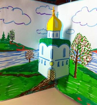 Объемная открытка на Пасху | Открытки своими руками: http://otkrytki-svoimi-rukami.ru/obemnaya-otkrytka-na-pasxu/