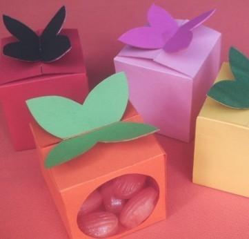Цветная коробка своими руками