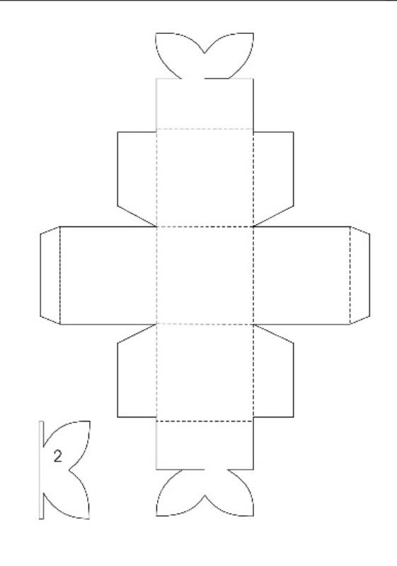 Коробки из картона своими руками шаблоны
