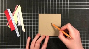 Валентинка. Создаем открытку своими руками.