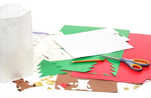 Как делать новогодние открытки своими руками из