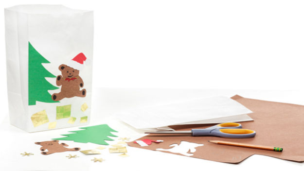 Открытки сделанные руками детей - Новогодние