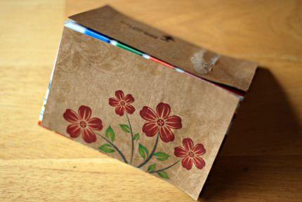 Открытки упаковки своими руками