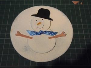 Как сделать шляпу снеговика своими руками
