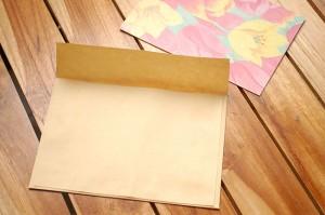 Конверт для открытки своими руками - Занимаемся с ребенком