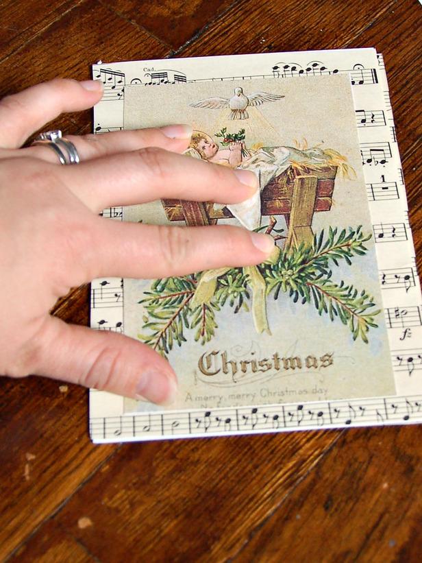 Новая открытка своими руками