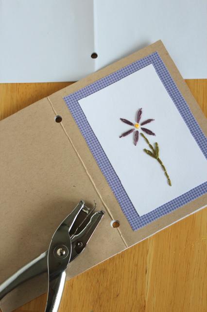 Открытка с цветком своими руками