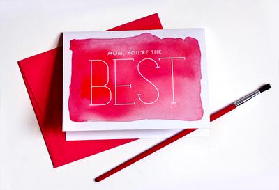 Как сделать открытку в день матери своими