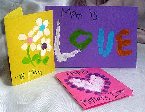 Открытки на День Матери своими руками