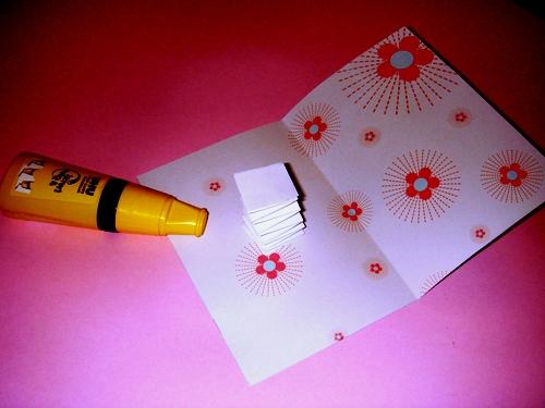 Открытки из бумаги своими руками на новый