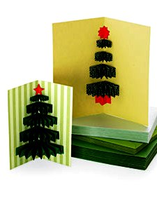 Как сделать новогоднюю открытку (1)