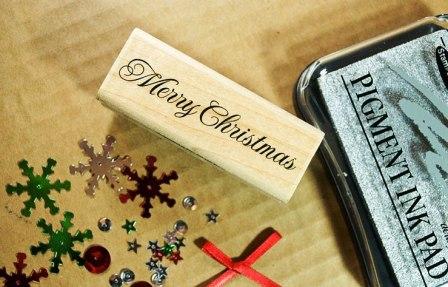 Открытка ручной работы на Новый год (2)