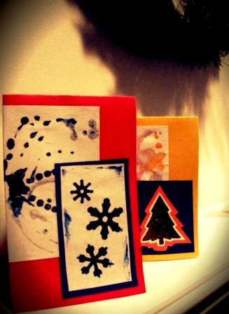 Поздравительные открытки на Новый Год (1)