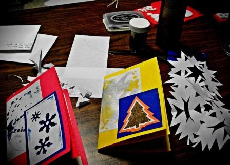 Поздравительные открытки на Новый Год (2)