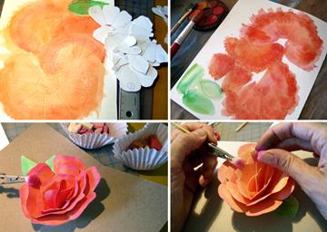 Как сделать открытку к 8 марта - необычный подарок маме (5)
