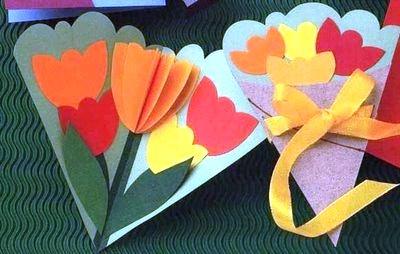 Как сделать своими руками тюльпан