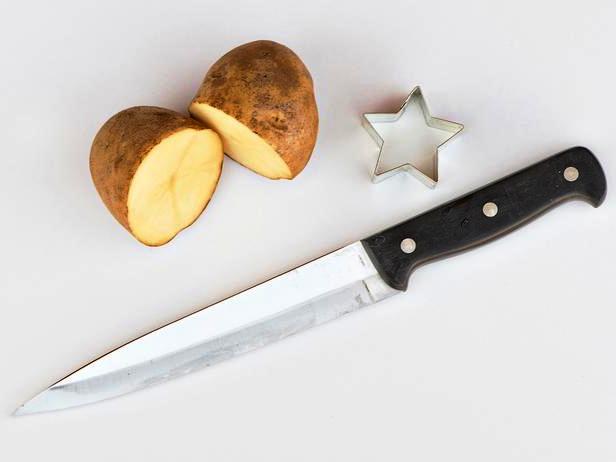 Открытки-картины - необычная идея с картошкой (1)