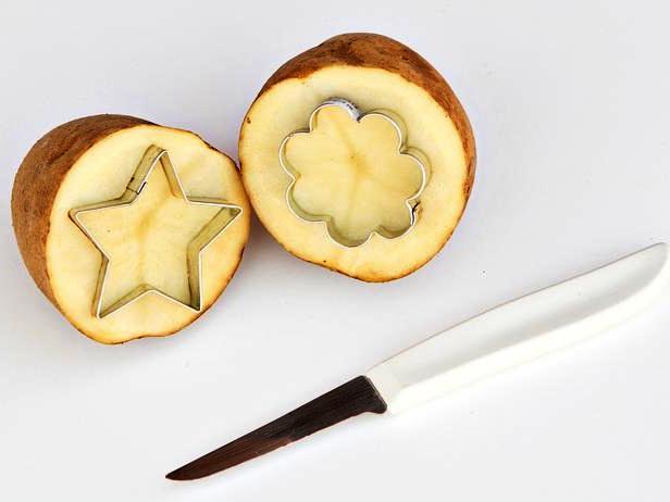Открытки-картины - необычная идея с картошкой (2)