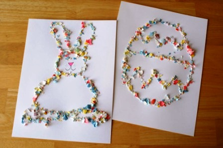 Картинки из яичной скорлупы (1)