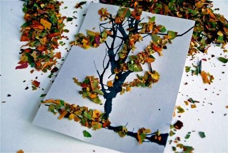 Осенние открытки своими руками (10)