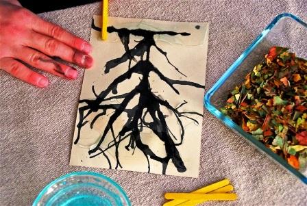 Осенние открытки своими руками (3)