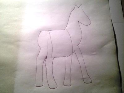 новогодние открытки с лошадью2