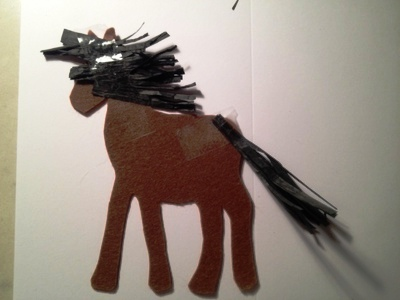 Новогодние открытки с лошадью (7)