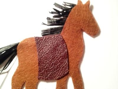 Новогодние открытки с лошадью (8)