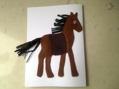 Новогодние открытки с лошадью (10)