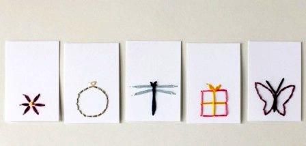 открытки с вышивкой своими руками2