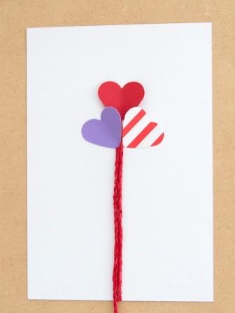 Романтическая открытка своими руками (6)
