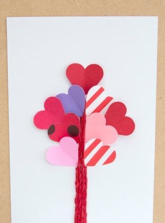 Романтическая открытка своими руками (7)