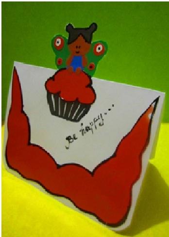 Как сделать детскую открытку