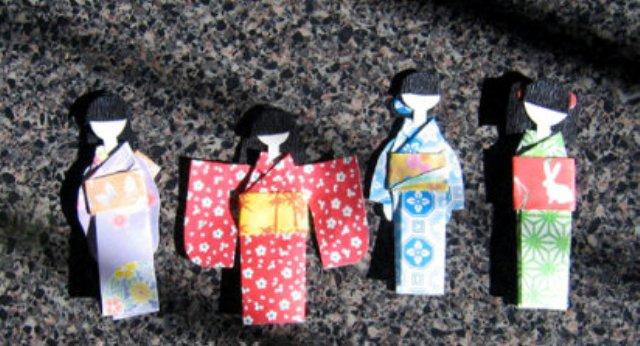 Открытка в японском стиле. Часть вторая.