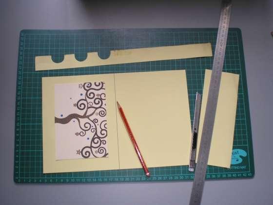 Новая открытка своими руками. Или как использовать старые поздравительные открытки.