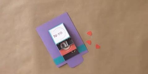 День всех влюбленных. Делаем открытку сами