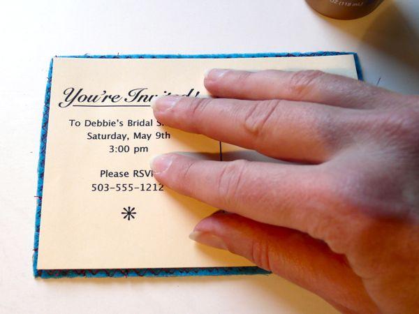 Как сделать приглашение на торжество
