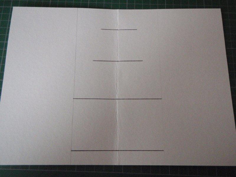 Объемная новогодняя открытка