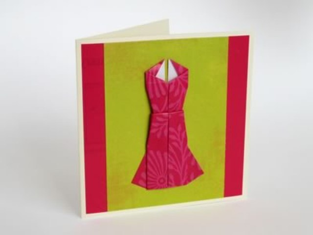 Украшение открытки оригами, свадьбу картинки