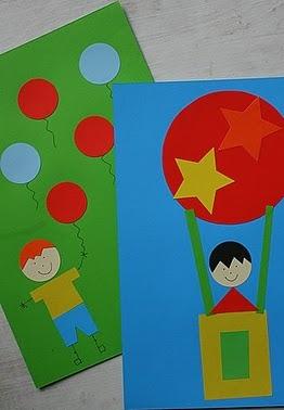 Открытка сделанная ребенком (4)