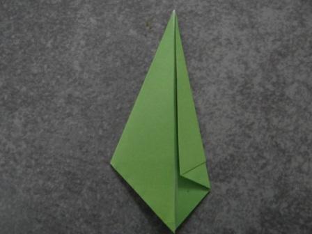 Открытка оригами Тюльпан (8)