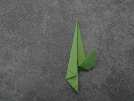 Открытка оригами Тюльпан (7)