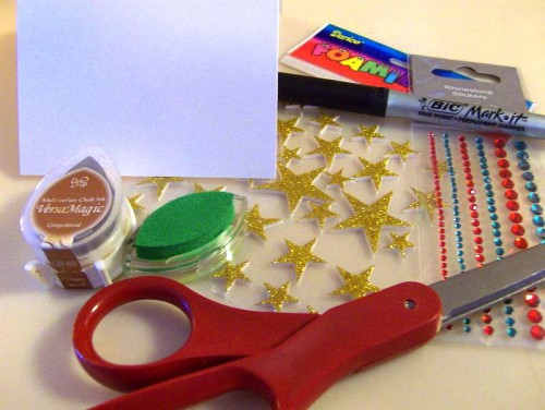 Открытки своими руками к Новому Году - как сделать открытку на Новый Год (2)