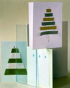 Как сделать новогоднюю открытку (3)