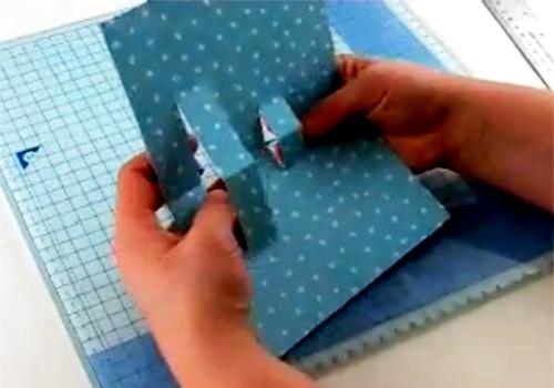 Открытка для мамы - открытка своими руками на Новый Год (6)